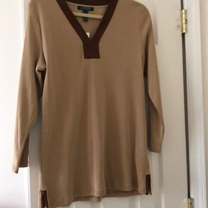 Tan Ralph Lauren Tunic